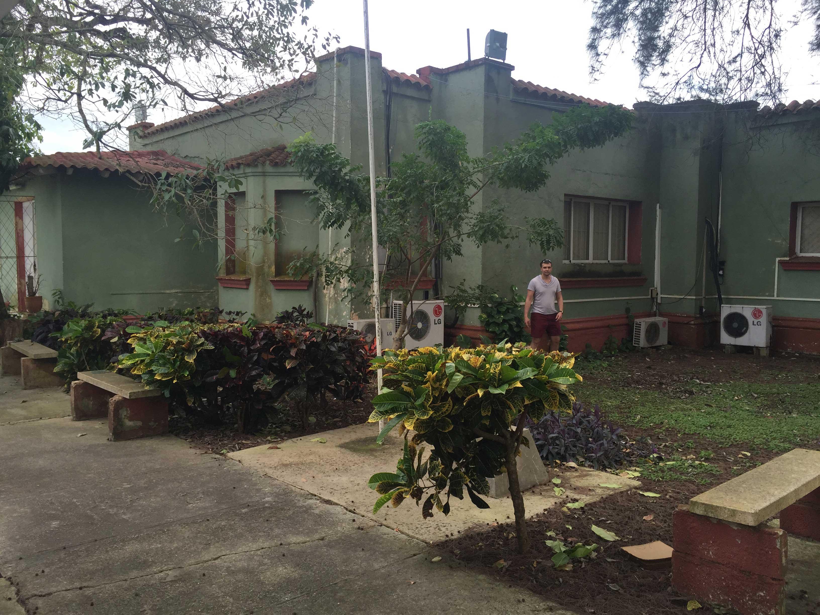 """Cтарый"" приемный центр, бывшая каса Анхелиты Кастро, 1981-1983"