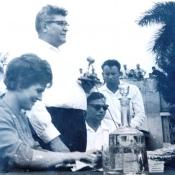1963-10-08. В.Терешкова в Торренсе