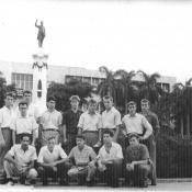 «1963. Дружеское общение с кубинской молодежью. Гавана.»