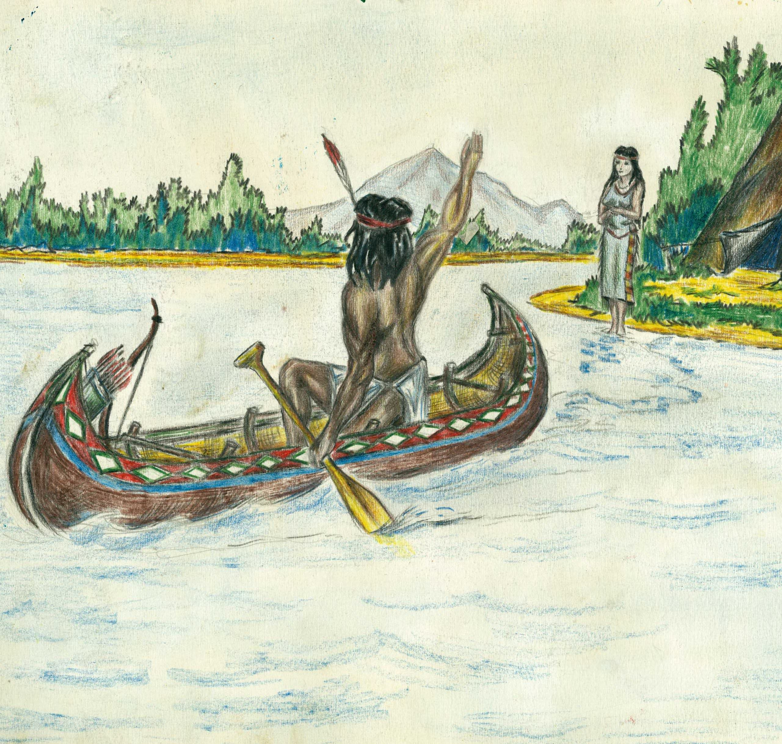 Из жизни индейцев, лист 2
