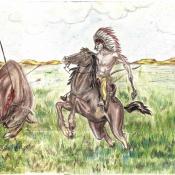Из жизни индейцев, лист 4