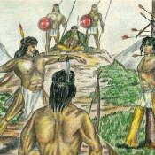 Из жизни индейцев, лист 8