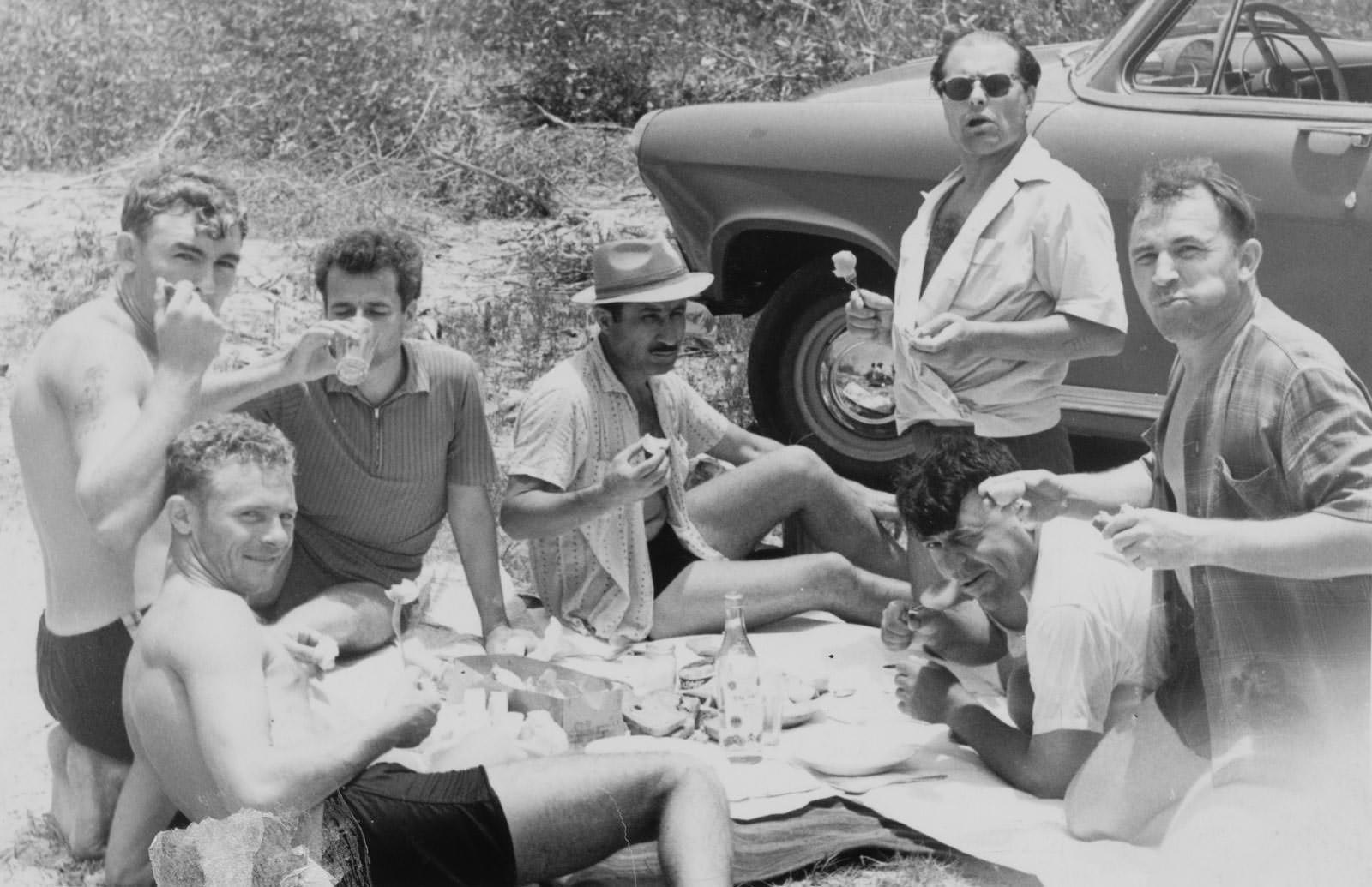 Май 1964. На рыбалке