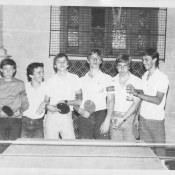 1986 год, турнир по теннису в школе