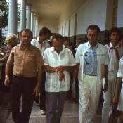 1986 год, встреча космонавтов, фото 1