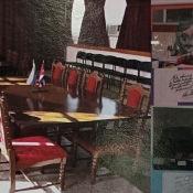 2020-03. Снимок со стенда музея в Торренсе, посвященного российскому уходу с Кубы (2001)