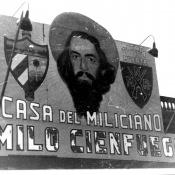 Кубинский плакат, посвященный Камило Сьенфуэгосу.