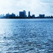 Гавана с борта корабля