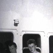 1966 год. На теплоходе «Мария Ульянова». Фото 2.