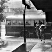 В Гаване, дождь