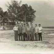 Группа офицеров полка у «дачи Батисты».