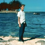 Моя фотография напротив «дачи Батисты».