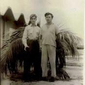 Провожаю Владимира Борисова в отпуск, июнь 1963 г.