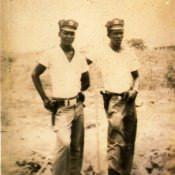 Курсант, обучаемый А.А. Плисюком в ПАРМ-1, Эдмундо (слева), фото 2