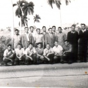 43. Коллективный снимок по дороге в Гавану