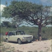 1974. Simca 1301 (французская машина) на пляже Анкон