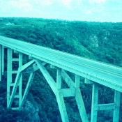 1968-1970. Мост Бакунаягуа, провинция Матансас
