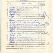 1973-1974. 6 класс. Октябрь