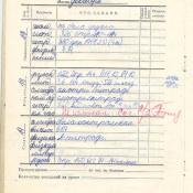 1973-1974. 6 класс. Декабрь