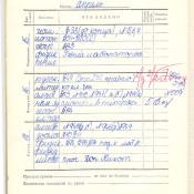1973-1974. 6 класс. Апрель