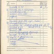 1974-1975. 7 класс. Апрель