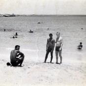На Гаванском пляже в компании приветливых кубинцев.