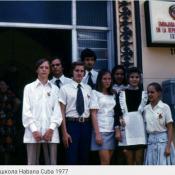 026. Посольская школа в Гаване, 1977