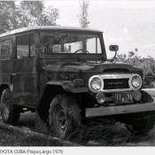 Джип Тойота, Плайя-Ларго, 1976
