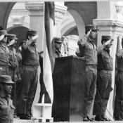 Торжественная церемония в Военно-техническом институте.