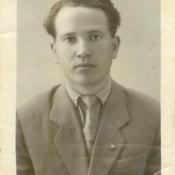 Шарапов Виктор Фролович. СССР, Саратовская обл. Нач. 1960-х гг.