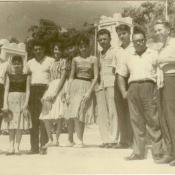 29. Шарапов Виктор Фролович (1-й справа) с советскими и кубинскими коллегами. Республика Куба. 1961-1962 гг.