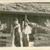 Попов Геннадий Александрович и кубинская девушка. Республика Куба, г. Гавана. 1961 г.