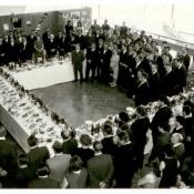 Прием в посольстве Кубы в Москве. СССР, г. Москва. 1960-е гг.