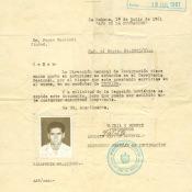 Паспорт заграничный № 223586 Попова Геннадия Александровича для пребывания в Республике Куба.