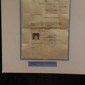 2018-10-17. Выставка «Куба – любовь моя!». Разрешение на пребывание в Республике Куба Г.А. Попова. 1961 г. Саратовский областной музей краеведения. Октябрь. 2018 г.
