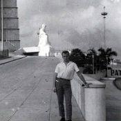 П.П. Чесноков на площади Революции