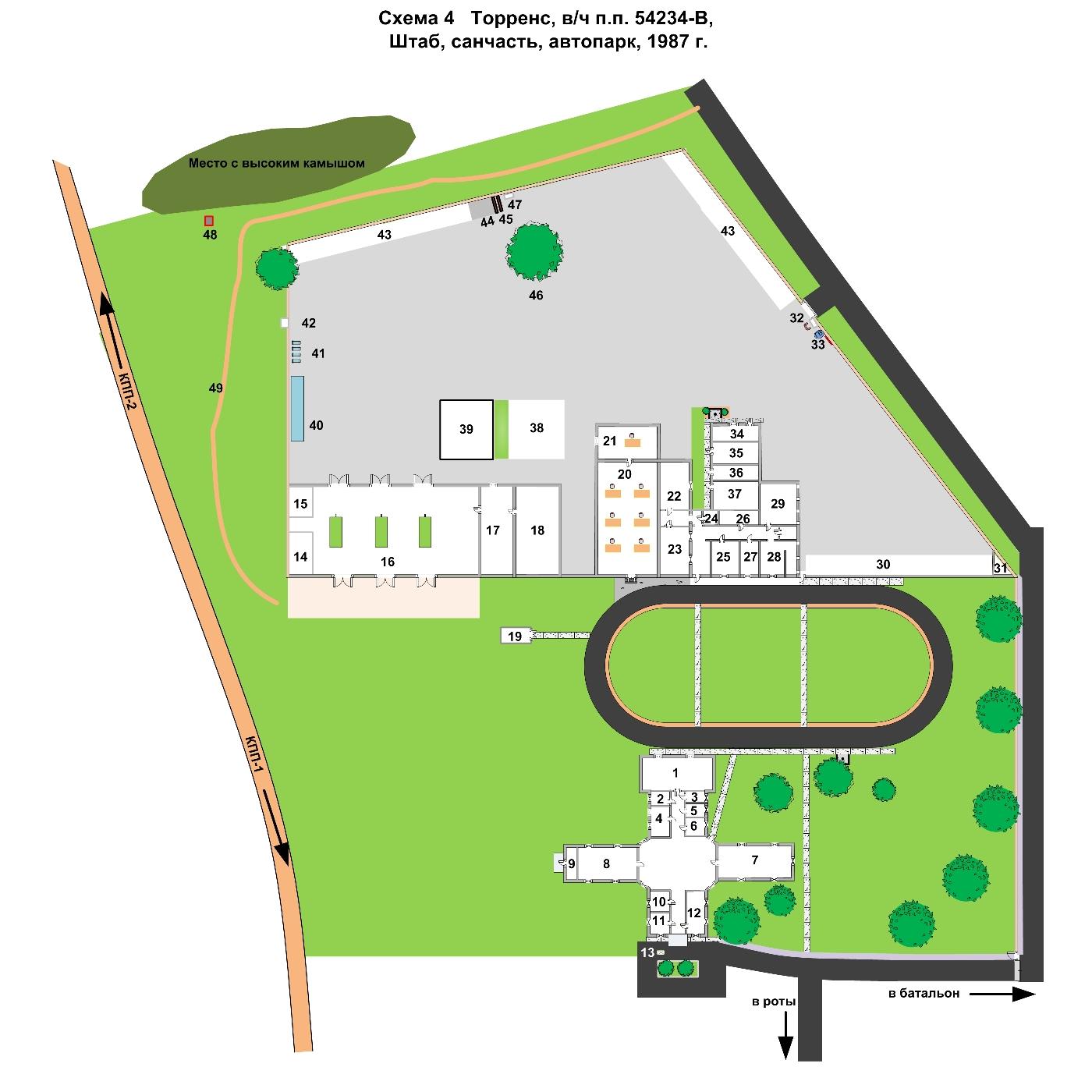 В/ч п.п. 54234-В. Санитарная часть (1984–1993)