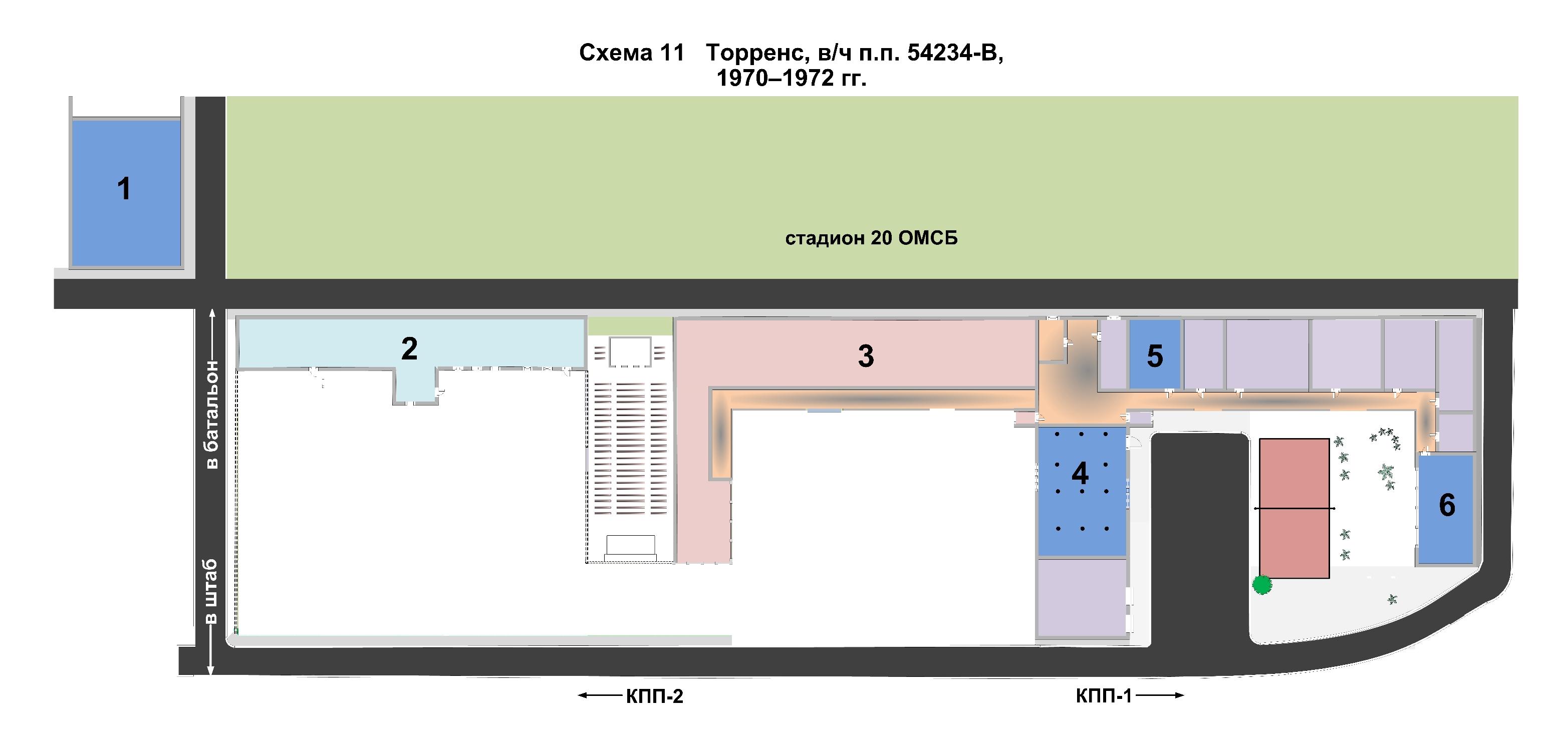 В/ч п.п. 54234-В. Образование роты, ее статус до 1978 года