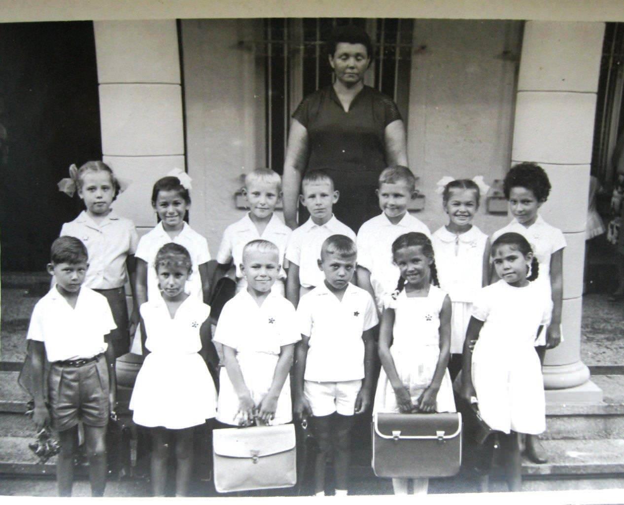 2 класс, 1965-1966 учебный год