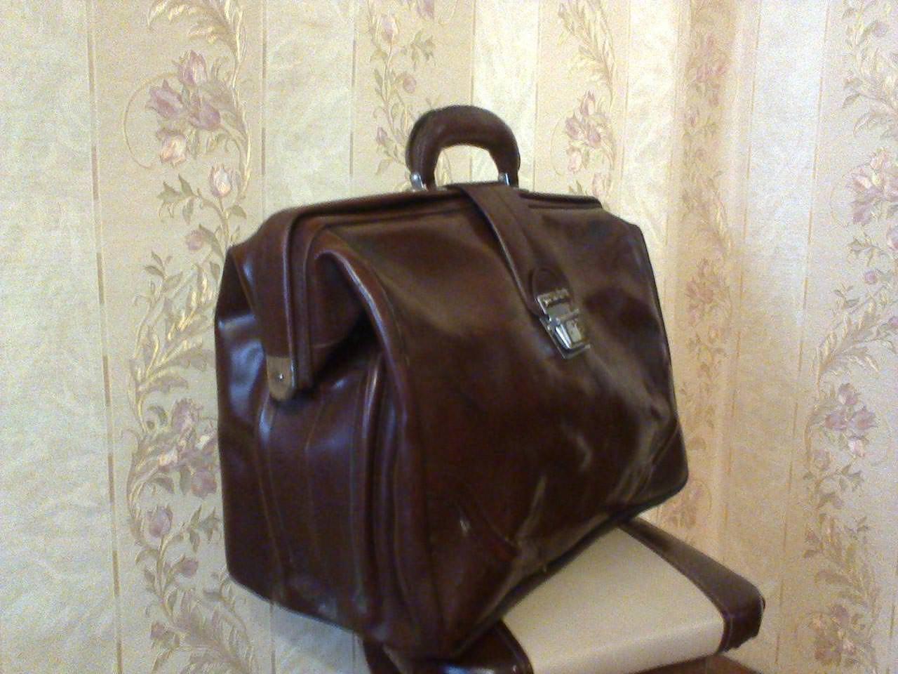 Портфель, который подарил ГВС на Кубе Кривоплясов С.Г. перед дембелем