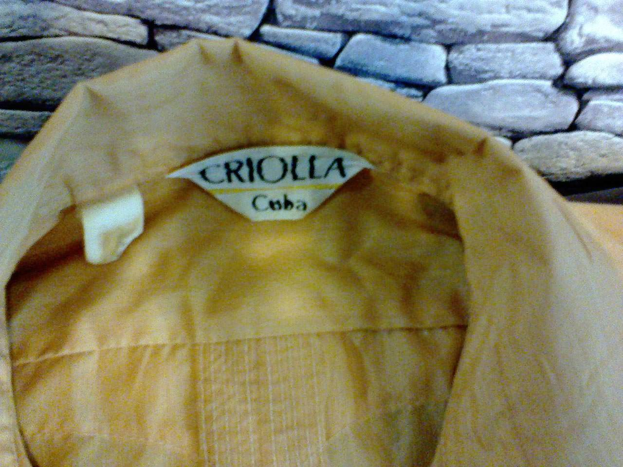 Национальная рубашка «гуаябера», бирка