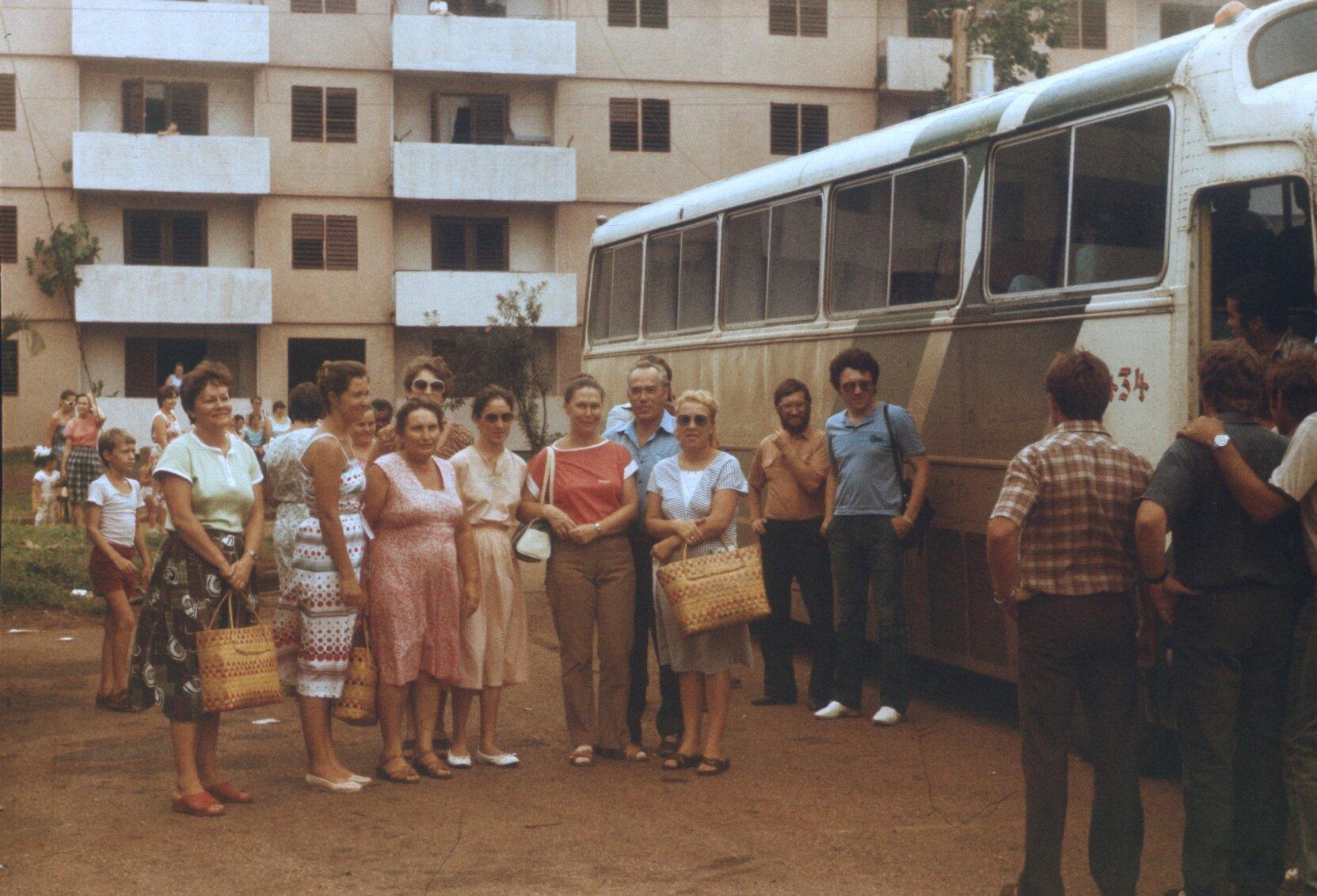 1988. Отъезд советских специалистов, фото 1