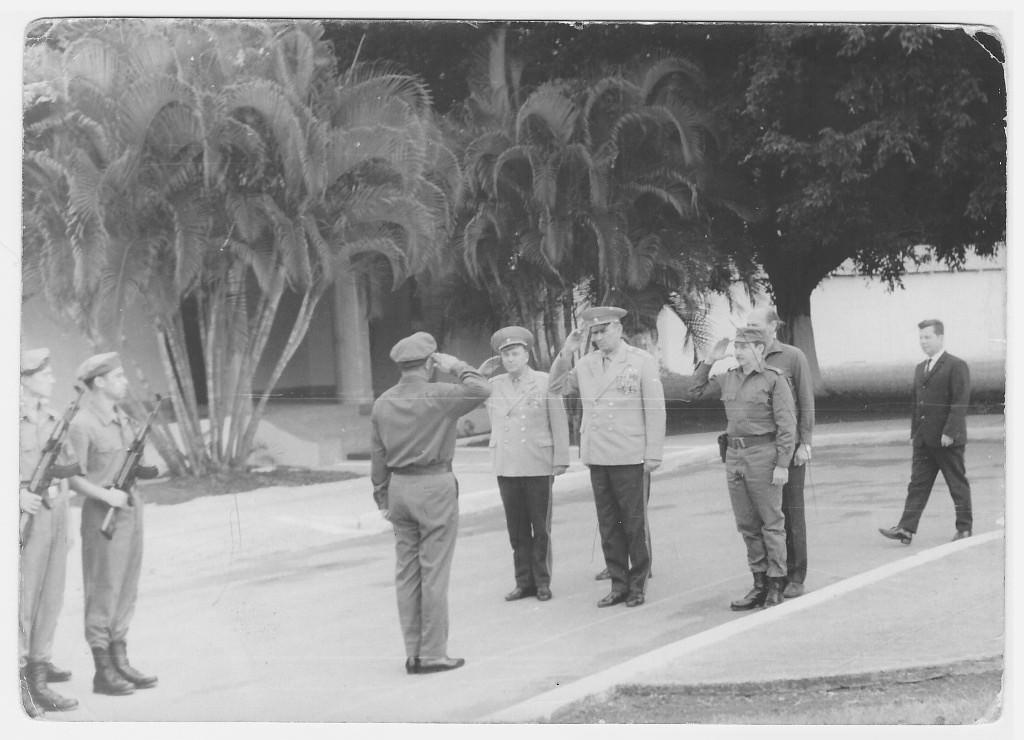 12-18.11.1969. А.А. Гречко, Рауль и самый последний - Биченко И.Г. (Вероятно, 20-ка).