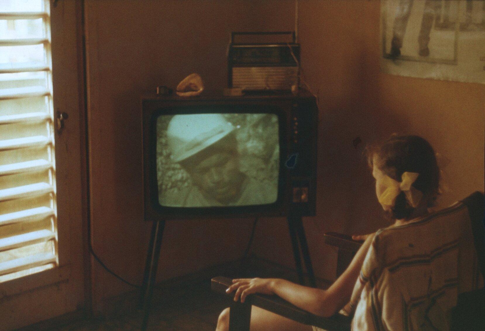 1985-1988. Дома у телевизора
