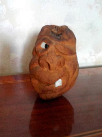 Оригинальная обезьяна из кокоса-1
