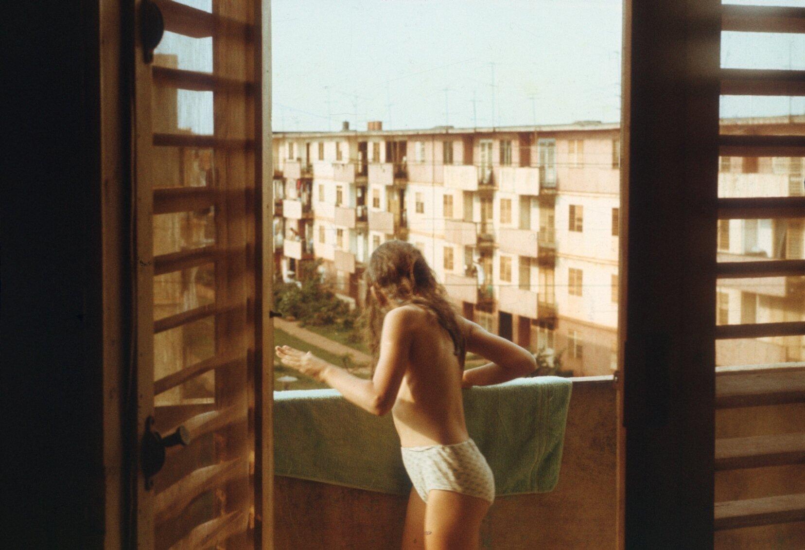 1985-1988. На балконе