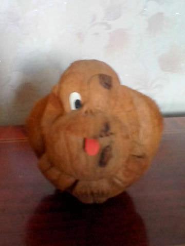 Оригинальная обезьяна из кокоса-2