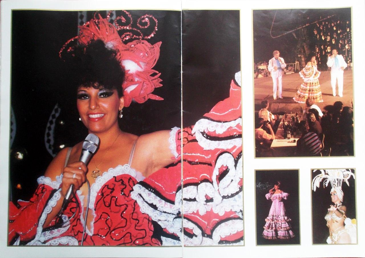 Рекламный журнал кабаре «Тропикана». 80-е годы. -08