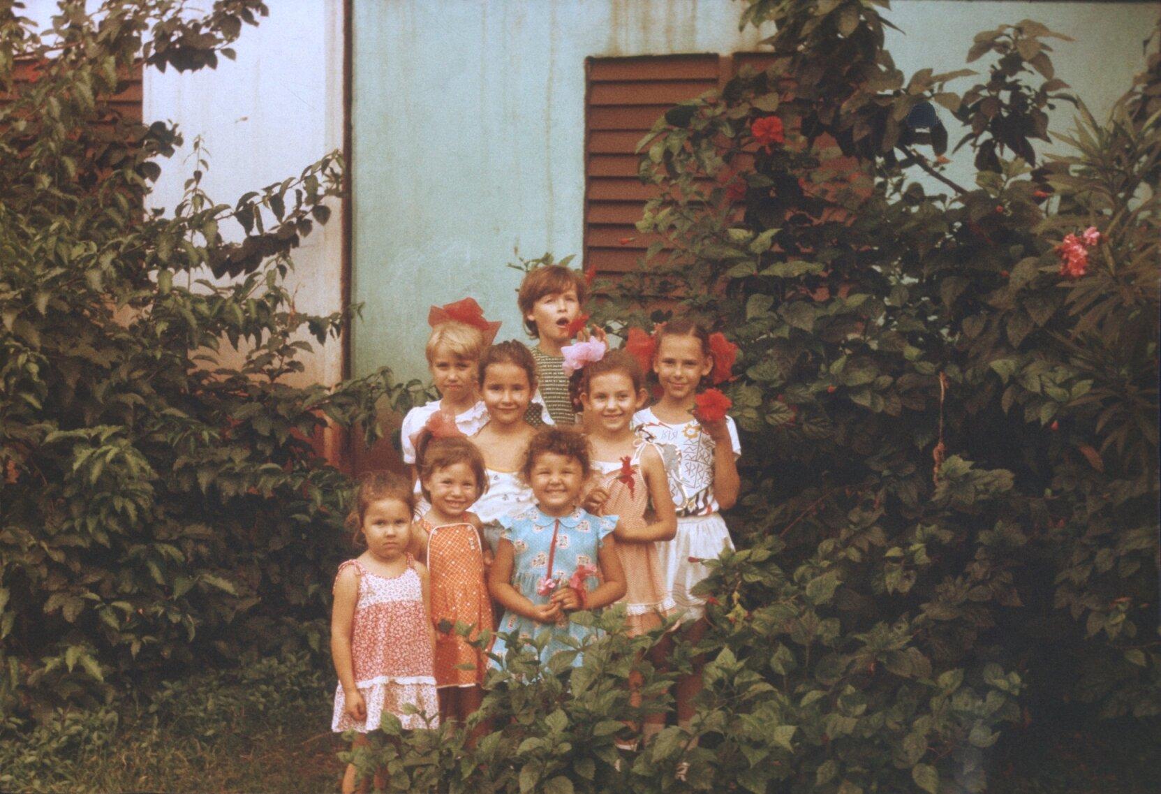 1985-1988. Коллективная фотография