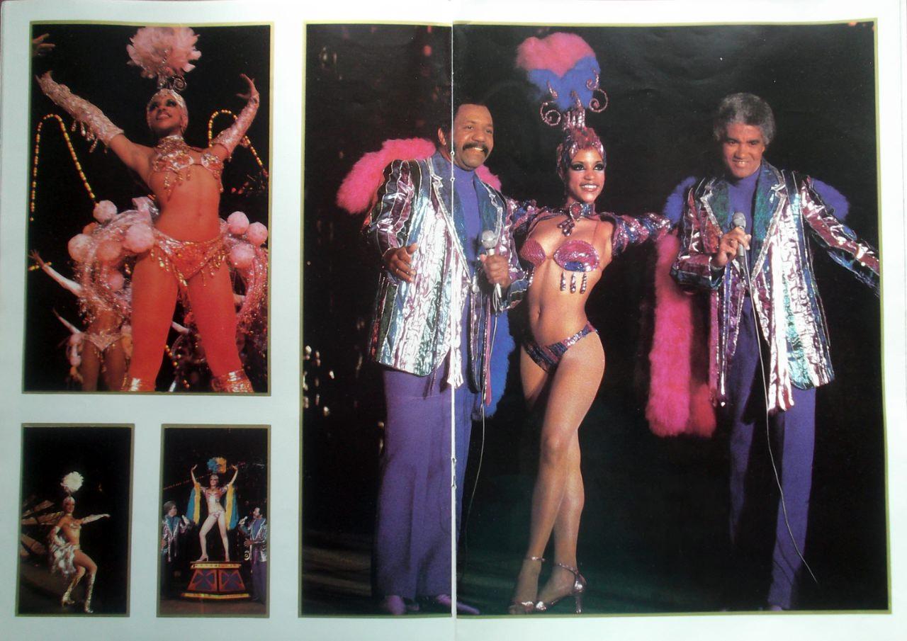 Рекламный журнал кабаре «Тропикана». 80-е годы. -09